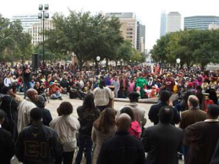 Austin Photo Set: Events_MLKMarch_UT_Jan2013