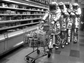 News_The Residents_Grocery Store_astronauts
