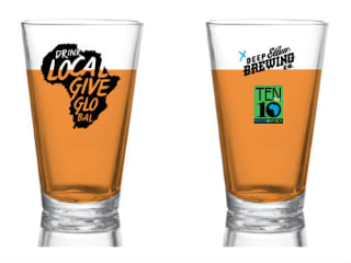 Deep Ellum Brewing Company, Drink Local Give Global