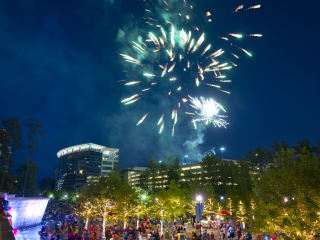 Memorial Day in The Woodlands