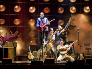 Austin photo: events_ryan_million dollar quartet_bass concert hall_april 2013_musical