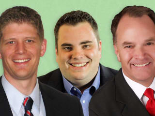 State Reps Steve Toth Jonathan Strickland Matt Krause Tea Part