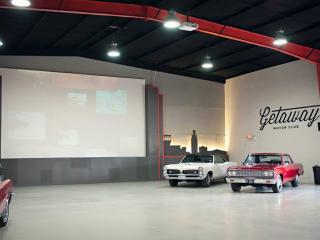 Getaway Motor Club interior