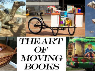 Nobelity Project exhibit Art of Moving Books fundraiser May 2013