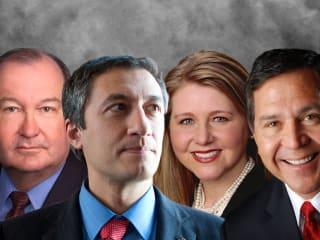 Texas Tribune conversation with Buck Wood, Giovanni Capriglione, Mindy Montord, Ismael Flores