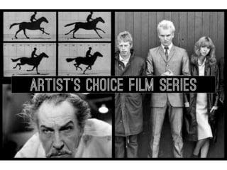 Houston Cinema Arts Society Artist's Choice Film Series - Theatre of Blood