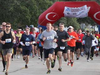 Runners in ZERO Prostate Cancer Run