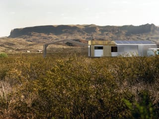 Nine Points Ranch artist retreat rendering out at Terlingua