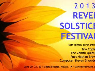 Revel Solstice Festival 2013