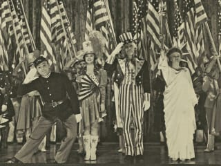 Yankee Doodle Dany film still with James Cagney Fourth of July America