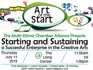 Art of the Start presented by the Multi-Ethnic Chamber Alliance