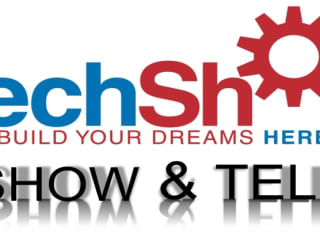 TechShop Show and Tell banner