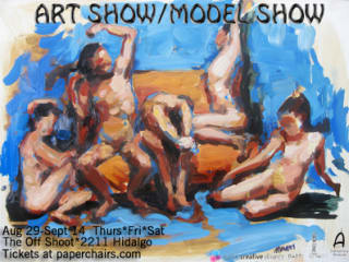 paper chairs presents Art Show/Model Show