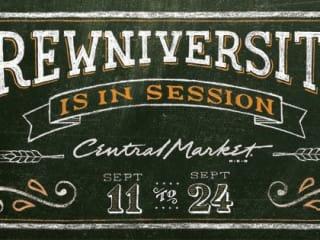 Central Market Brewniversity banner