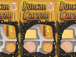 Duncan Carson at Velveeta Room poster