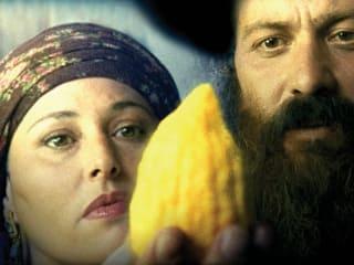 still from the film Ushpizin
