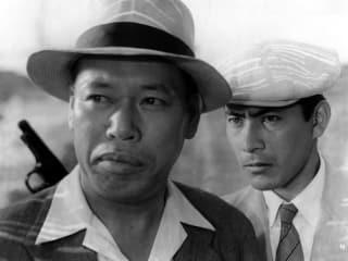 Still from film Stray Dog by Akira Kurosawa