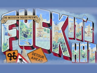 Institution Theater Fuck It's Hot sketch comedy show August 2015