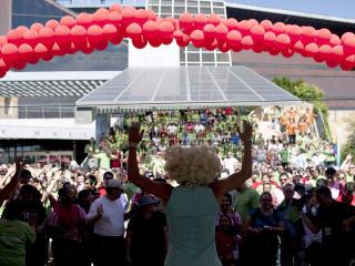 Austin Photo Set: News_Katie Pengra_Living in Austin with HIV and Aids_asa walk