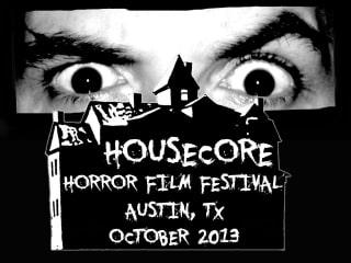 poster for Housecore Horror Film Festival