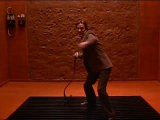 James Woods in film Videodrome