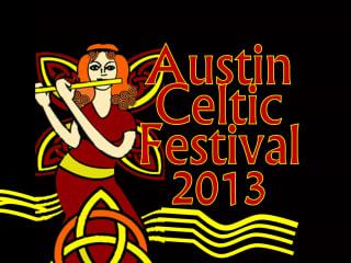 logo for Austin Celtic Festival 2013