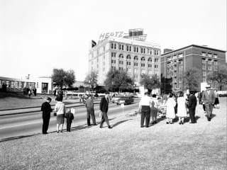 JFK at 50 Dealey Plaza, Dallas, December 1963.