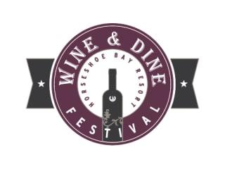 Horseshoe Bay Resort Wine and Dine Festival logo 2013