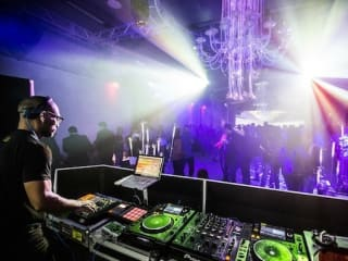 DJ at after paty Blu at the W for Formula 1