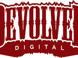 logo for indie movie distributor producer Devolver Digital