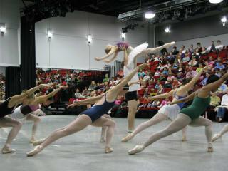 photo of ballet dancers at AustinVentures for Ballet Austin Studio Spotlight