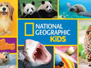 logo and animals for National Geographic Kids