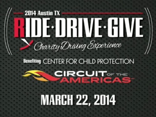 Ride Drive Give charity driving experience for Center for Child Protection