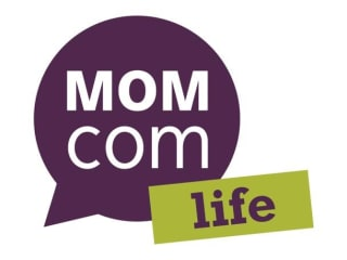 logo for MomCom Life conference for mothers