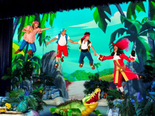 Jake and the Neverland Pirates with Captain Hook for Disney Junior Live on Tour Pirate and Princess Tour