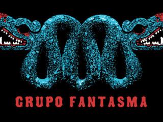 Grupo Fantasma logo of double headed serpent Quetzalcoatl