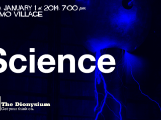 poster for the Dionysium Science show