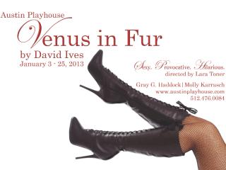 poster for Venus in Fur at Austin Playhouse