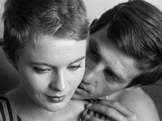 still from film Breathless by Jean-Luc Godard