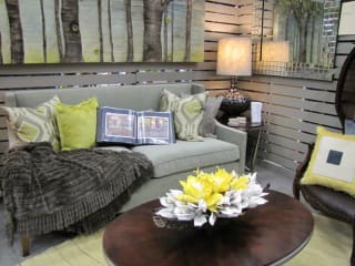 couch for the Austin Home and Garden Show