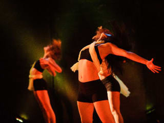 dancers performing for TRU dance Project's Imperfect Sentiments show