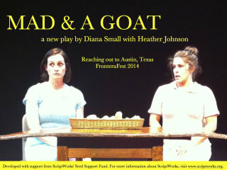poster for Mad & a Goat play for Frontera Fest