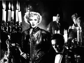 still from the Fassbinder film Veronica Voss