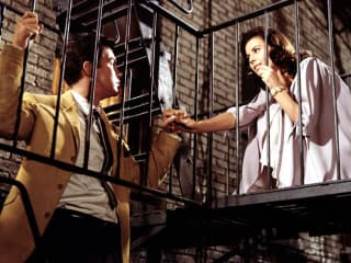 scene from the film West Side Story