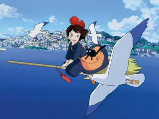 Hayao Miyazaki film Kiki's Delivery Service