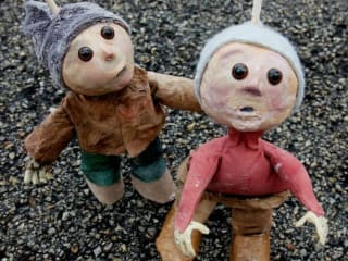 Trouble Puppet show The Crapstall Street Boys
