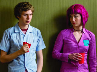 Scott Pilgrim with Ramona Flowers from Scott Pilgrim vs. the World