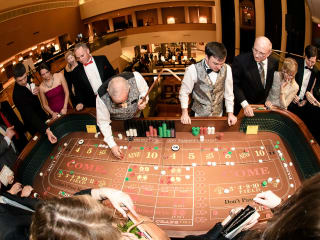 craps table for CASAblanca Gala for CASA of Travis County