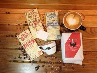 Houndstooth Coffee and Great Bean Chocolate pairing at Mockingbird Domestics