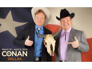 Conan in Dallas